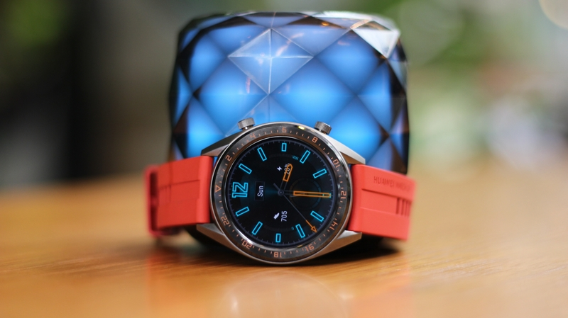 anh chup dong ho huawei watch gt active edition chinh hang 3 - Đồng hồ thông minh Huawei Watch GT Active Edition chính hãng