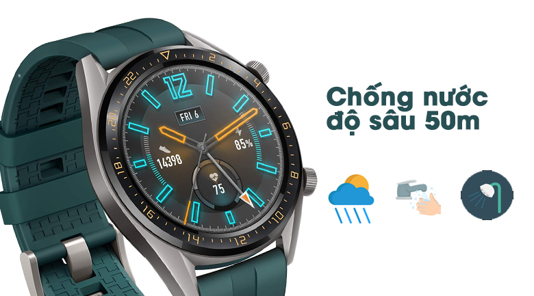huawei watch gt active edition 1 - Đồng hồ thông minh Huawei Watch GT Active Edition chính hãng