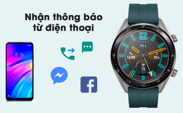 huawei watch gt active edition 2 - Đồng hồ thông minh Huawei Watch GT Active Edition chính hãng