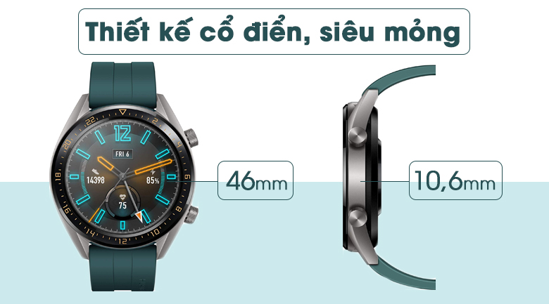 huawei watch gt active edition 4 - Đồng hồ thông minh Huawei Watch GT Active Edition chính hãng