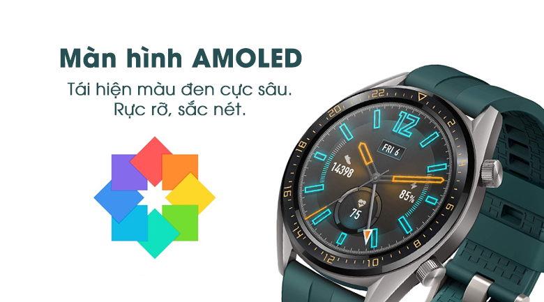 huawei watch gt active edition 5 - Đồng hồ thông minh Huawei Watch GT Active Edition chính hãng