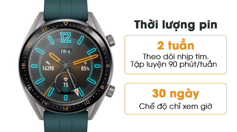 huawei watch gt active edition 6 - Đồng hồ thông minh Huawei Watch GT Active Edition chính hãng